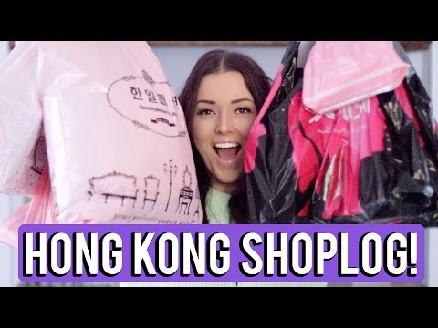 MEGA Hong Kong Shoplog! ❤ Make-up, maskers, kleding, etc! | Beautygloss