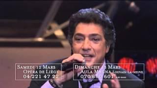 Frédéric François - Concerts de mars 2016