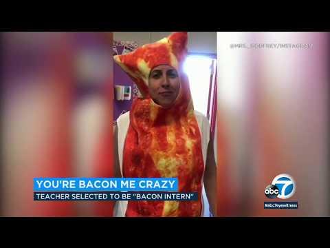 Moreno Valley high school teacher selected as first-ever Farmer Boys bacon intern! | ABC7