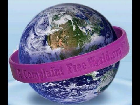 Мир  без жалоб!  Кому фиолетовый браслетик?