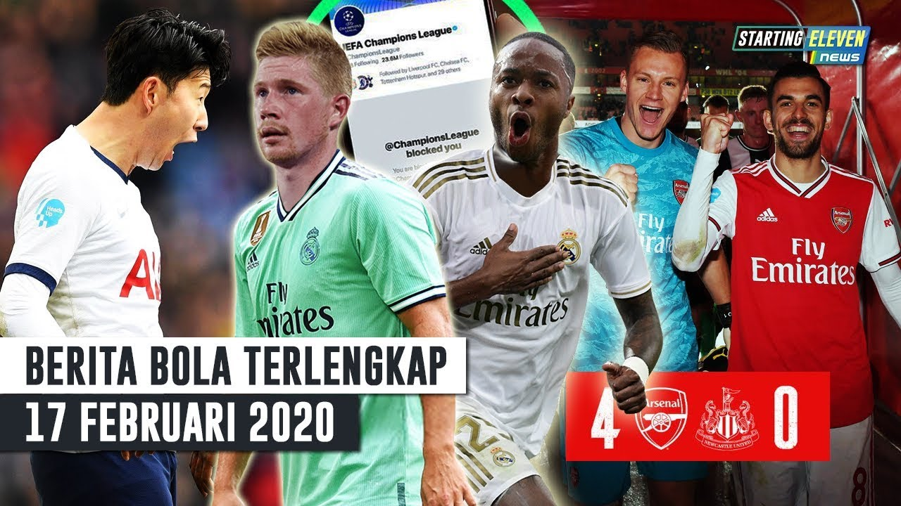 Madrid Siap Bajak Sterling Bruyne  F F  B Arsenal Menang Besar Son
