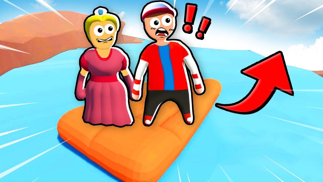 NIE WPADNIJ DO WODY ŻEBY WYGRAĆ! (Human Fall Flat) | Vito i Bella