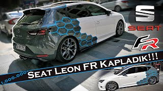 Seat Leon FR - Nardo Gray // Blue Honeycomb Coating