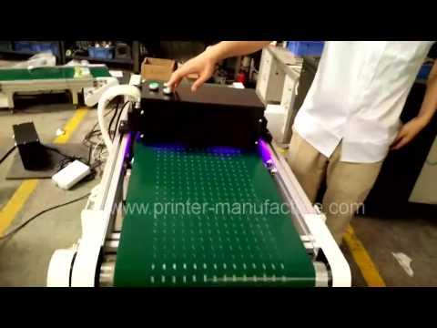 Flat LED UV Curing Machine