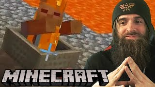 Going Off The Rails in MINECRAFT!
