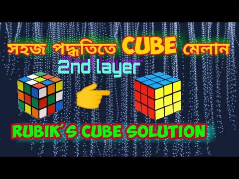 How to solve Rubik's cube / কিভাবে রুবিক্স কিউব মেলাতে করতে হয়