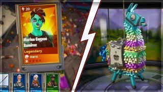 PACK OPENING LAMA BIRTHDAY !!! [ FORTNITE SAUVER THE WORLD]