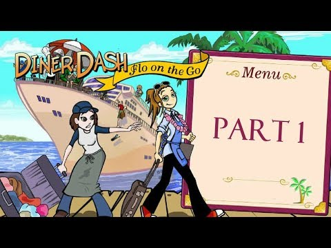 Diner Dash: Flo On The Go - Gameplay Part 1 (Level 1 To 3)