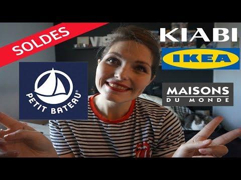 HAUL SOLDES HIVER 2019 (IKEA, KIABI, PETIT BATEAU, MAISONS DU MONDE)