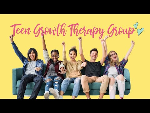 Group Counseling For Teen Girls With Anxiety, Depression Or Low Self-Esteem