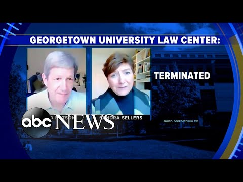 Georgetown law professor fired after Zoom conversation made public l GMA
