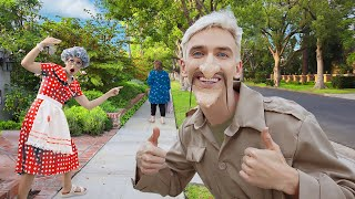 BEST UNDERCOVER DISGUISE WINS $10,000 (Spying On Mystery Neighbor to Capture Face Reveal)