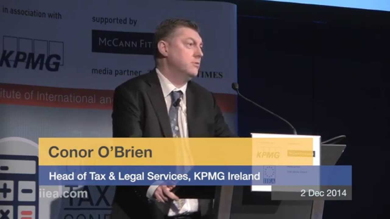 Conor O'Brien on Competitiveness in the Changing Tax Environment
