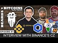 CZ Binance CEO Interview - CoinMarketCap Acquisition, Bitcoin Mining Pool, Binance Card, Ripple ODL
