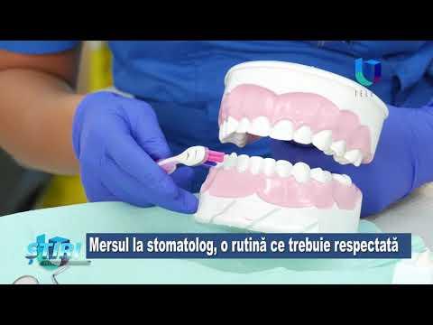 TeleU: Mersul la stomatolog, o rutină ce trebuie respectată