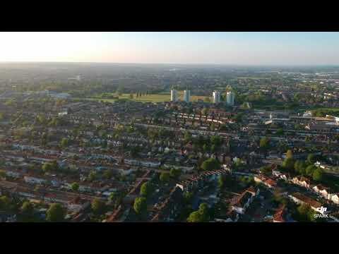 DJI SPARK & LONDON PONDERS END 2018