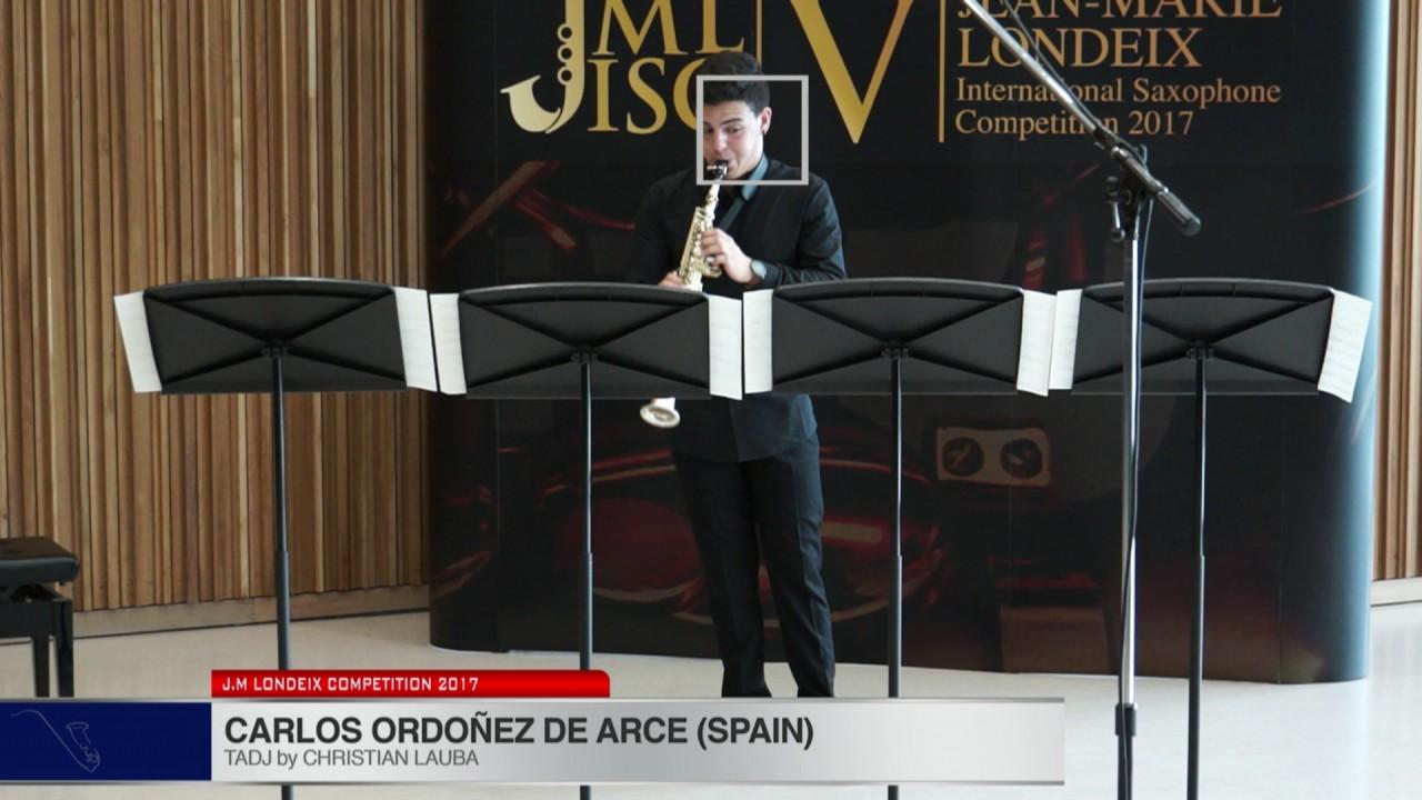 Londeix 2017 - Carlos Ordonez De Arce (Spain) - Tadj by Christian Lauba