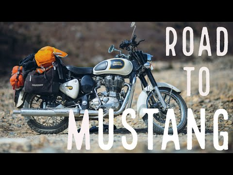 A motorcycle journey into the Himalaya: Road to Mustang (GoPro Nepal Annapurna)
