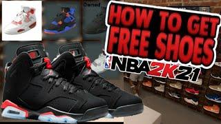 NBA 2K21 FREE SHOES GLITCH|HOW…
