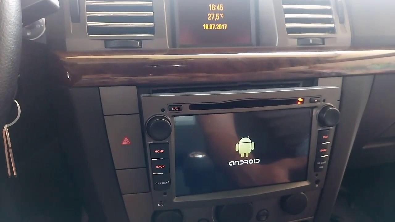 opel vectra c android 6 0 quad core 1024 600 2 din coche. Black Bedroom Furniture Sets. Home Design Ideas