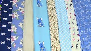 Обзор новой ткани. Распаковка ткани / Пополнила запасы / Что буду шить на весну и лето