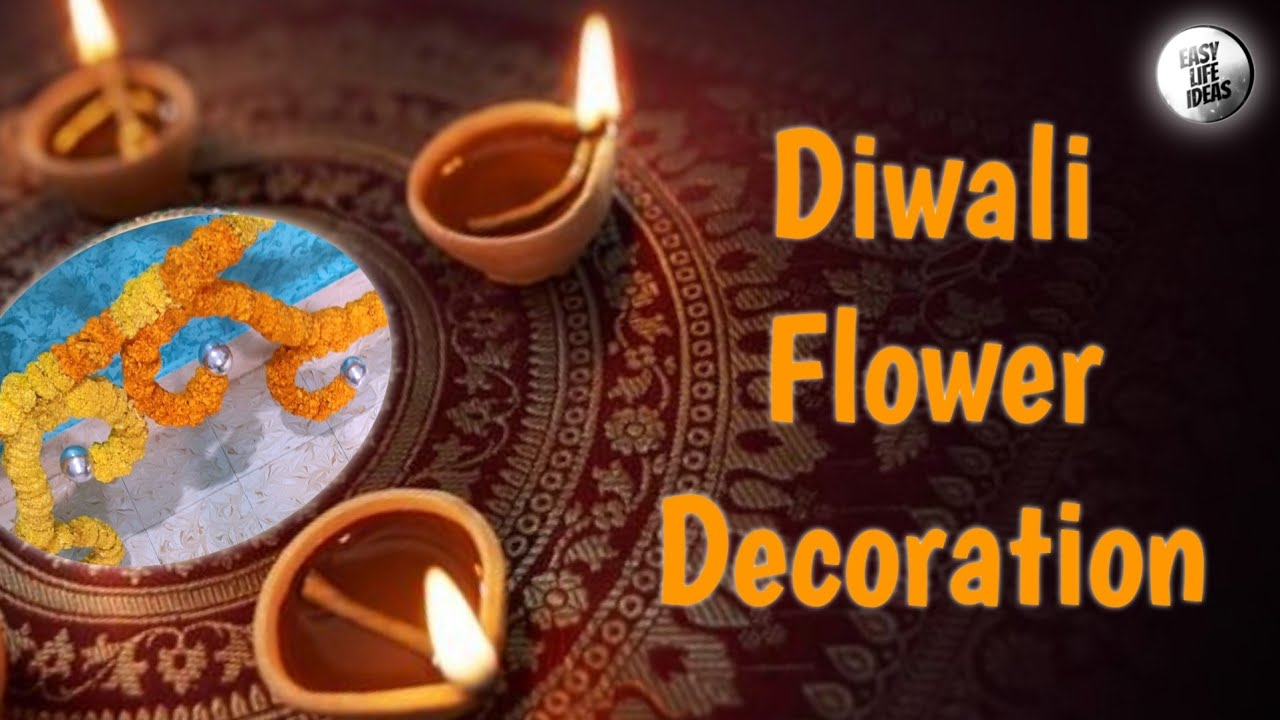 Diwali Flower Decoration Idea
