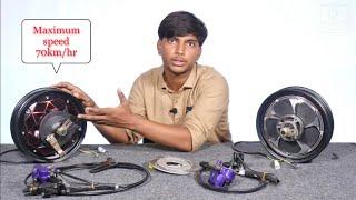 Hub motor kit for DIY PROJECT     Creative Science