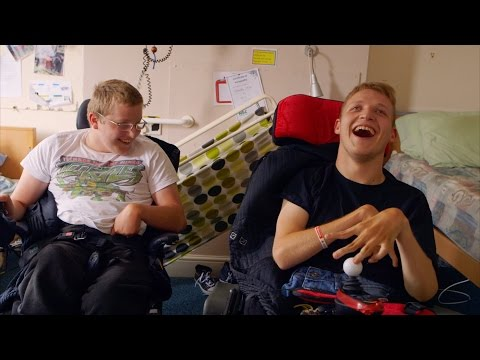 Benefits of having a roommate - The Unbreakables: Love & Life of Disability Campus - BBC Three