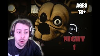 VERY SCARY FNAF FAN GAME| Eddie And The Misfits #1