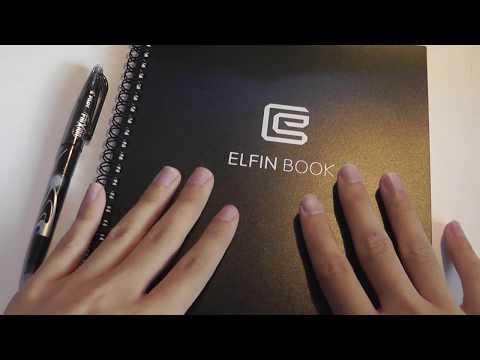 REVIEW: ELFIN Book - Erasable, Smart Notebook Journal
