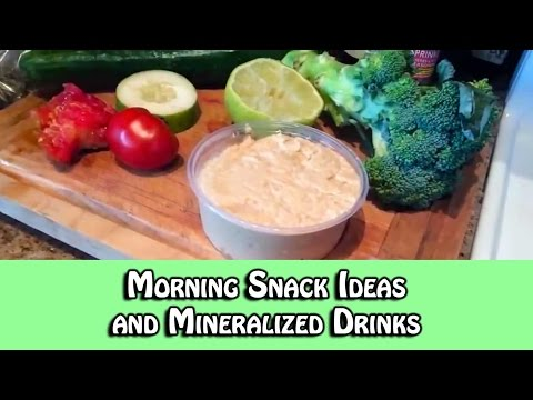 Morning Snack Ideas and Mineralized Drinks | Dr. Robert Cassar