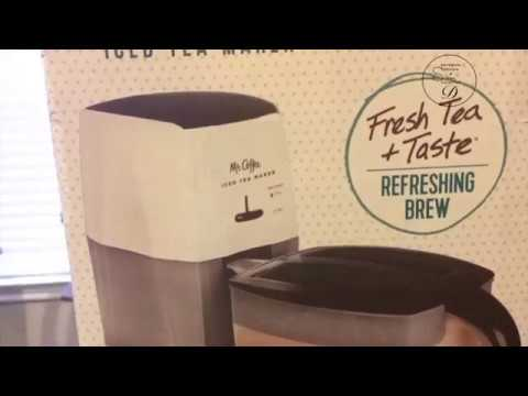 MR COFFEE ICED TEA MAKER UNBOXING