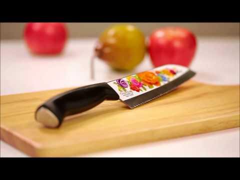 KOREA - GOLDEN ROSE KNIVES BY HEAP SENG GROUP