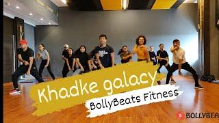 Khadke Glassy Jabariya Jodi BollyBeats Fitness Choreography Rohit Saud