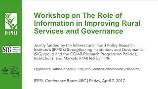 02 Knowledge, power, & governance: Women's self-help groups and public entitlement schemes in India