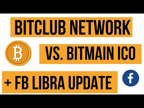 BitClub Network vs Bitmain IPO Scandal | Will Jack Dorsey's Square Crypto Be #1 PLUS FB Libra Update