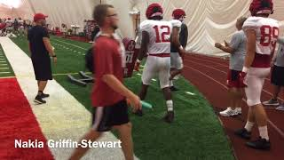 Rutgers hits blocking sled with force