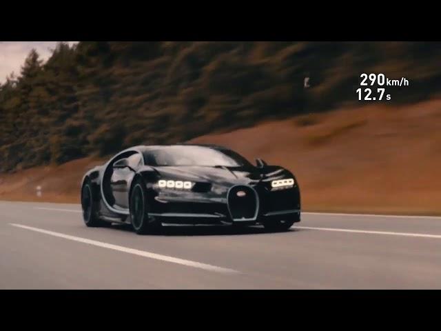 CarPOint News: Bugatti Chiron faz de  0 a  400 km/ h em  32 6 segundos