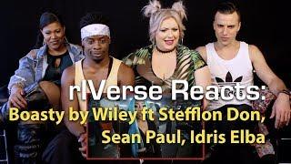 rIVerse Reacts: Boasty by Wiley ft Stefflon Don, Sean Paul, Idris Elba - M/V Reaction