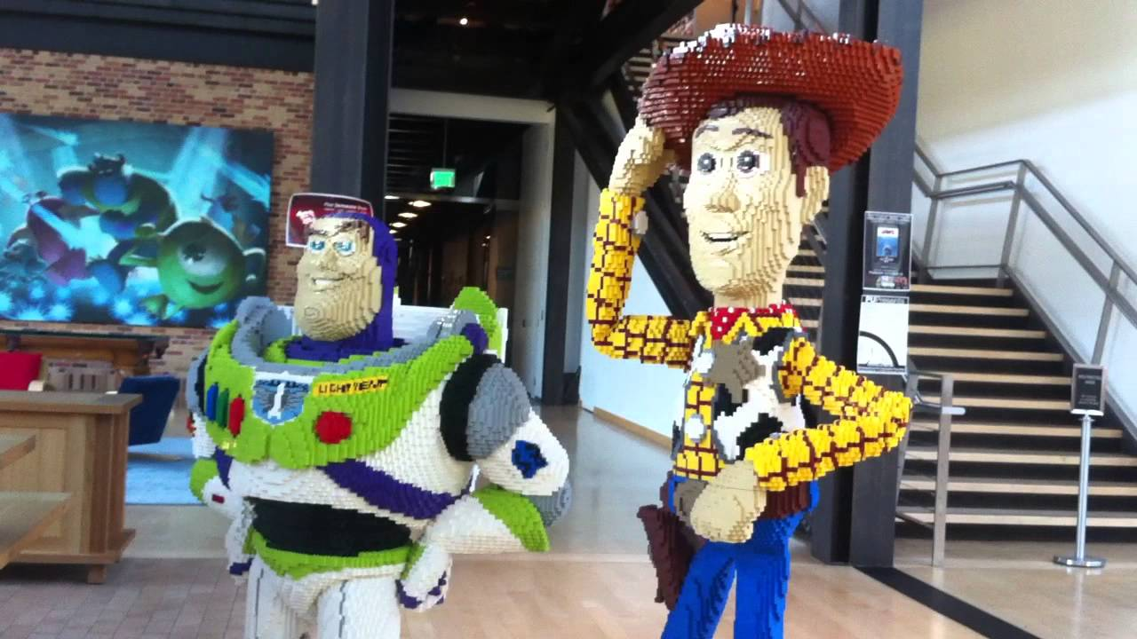 Pixar Animation Studios Tour - YouTube