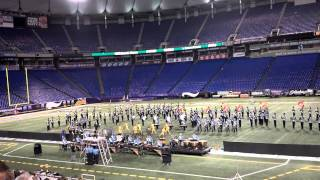 Sioux Falls Lincoln Patriot Marching Band at Youth in Music 2013