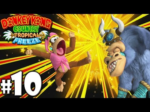 Download Youtube: Donkey Kong Country Tropical Freeze Co-Op Ba-Boom Boss PART 10 (Wii U HD Gameplay Walkthrough Coop)