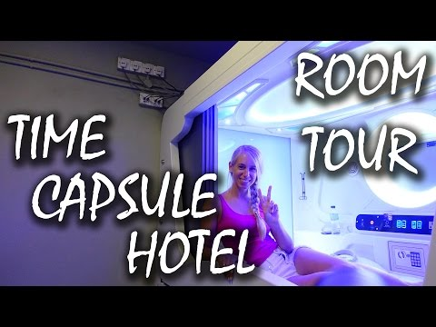 Roomtour Time Capsule Hotel - 1 Nacht in der Zeitkapsel - Malaysia | #30
