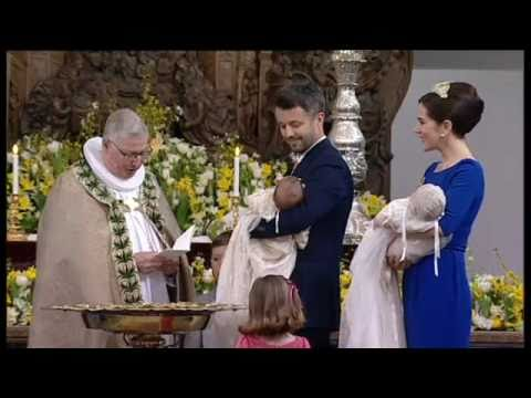 3 Christening of Prince Vincent & Princess Josephine (14 April 2011)