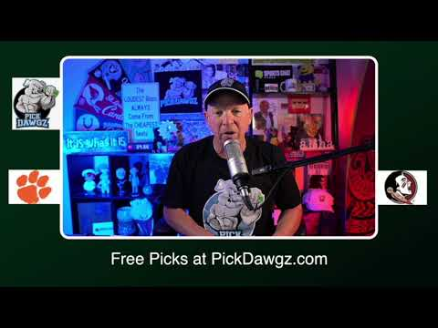 Florida State vs Clemson 11/21/20 Free College Football Picks and Predictions CFB Tips Pick Dawgz