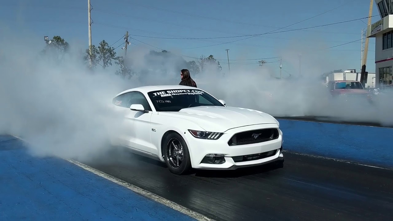2015 Mustang goes 7.92@176 with 6R80 transmission!
