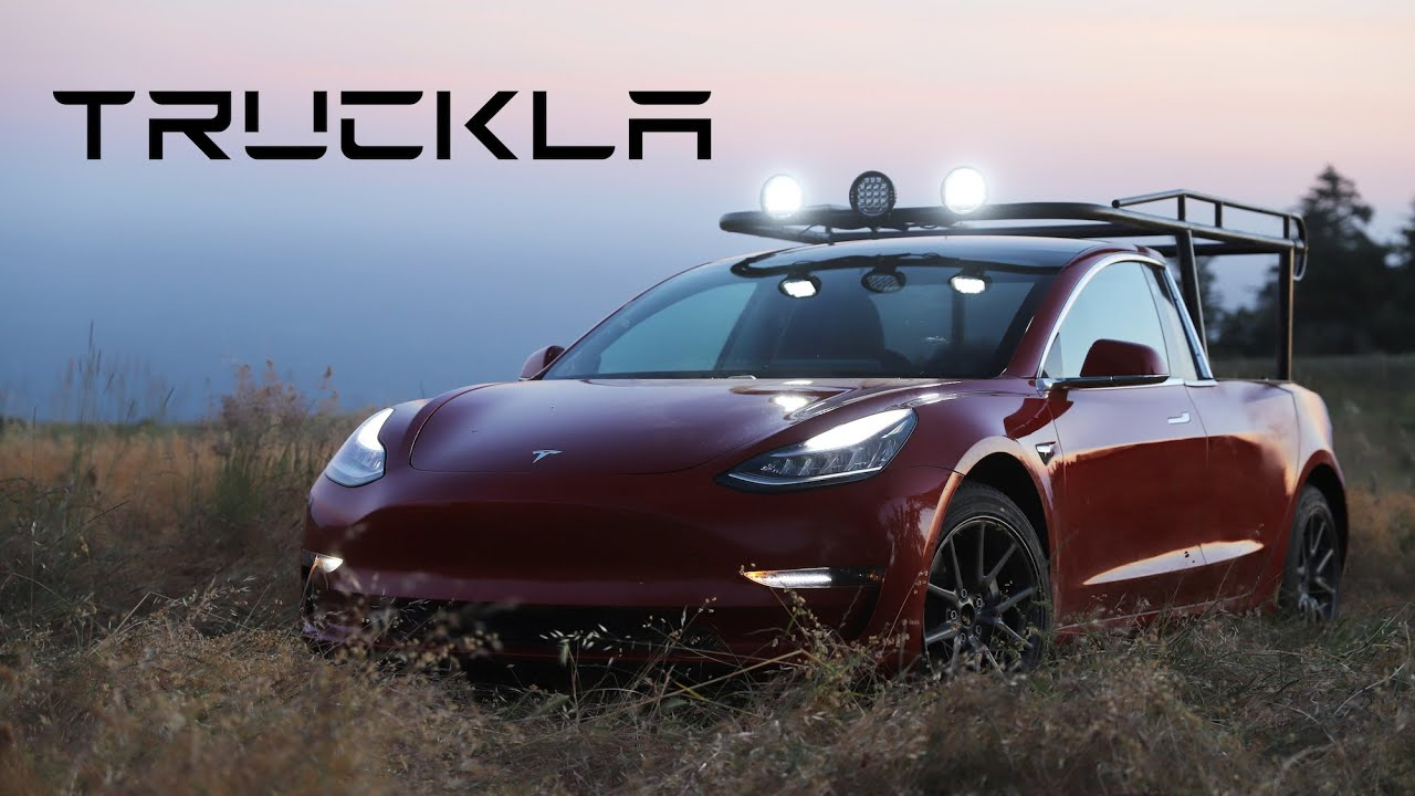 This DIY Tesla pickup truck refused to wait for Elon Musk - SlashGear