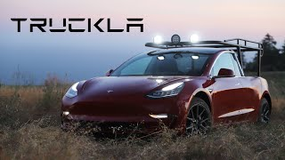 TRUCKLA: The worlds first Tesla pickup truck