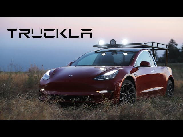 TRUCKLA: The world's first Tesla pickup truck