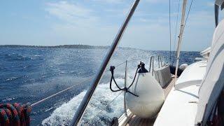 видео На яхте по островам Хорватии
